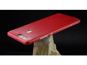 Hliníkový rám pre Huawei Ascend P9 Lite - červený (red)