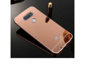 Hliníkový kryt (obal) pre LG G5 - ružový (pink)