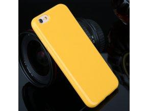 Silikónový kryt (obal) pre Sony Xperia M2 - žltý (yellow)