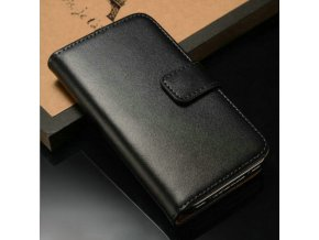 Flip Case (puzdro) pre Iphone 5/5S/SE - čierne (black)