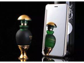 Flip Case (puzdro) pre Iphone 5/5S/SE - strieborné (silver)