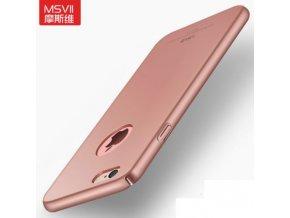 Plastový kryt (obal) pre iPhone 5/5S/SE - rose gold