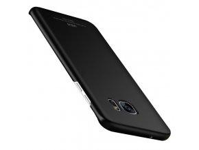 Plastový kryt (obal) pre Samsung Galaxy Note 7 - čierny (black)