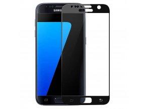 Tvrdené sklo pre Samsung Galaxy S7 - čierne (black)