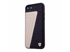Nillkin kožený kryt (obal) pre iPhone 7 - black (čierny)