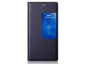 Flip Case (puzdro) pre Huawei Honor 6 - čierne (black)