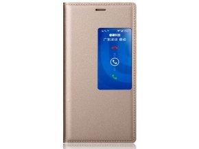 Flip Case (puzdro) pre Huawei Honor 6 - zlaté (gold)