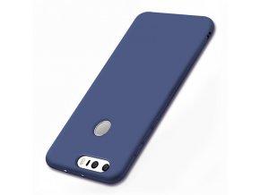 Silikónový kryt (obal) pre Huawei Honor 8 - dark blue (tm. modrý)