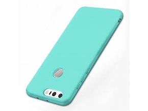 Silikónový kryt (obal) pre Huawei Honor 8 - light blue (sv. modrý)