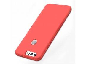Silikónový kryt (obal) pre Huawei Honor 8 - red (červený)