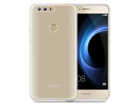 Silikónový kryt (obal) pre Huawei Honor 8 - clear (priesvitný)