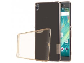 Silikónový Nillkin kryt (obal) pre Sony Xperia XA - brown (hnedý)