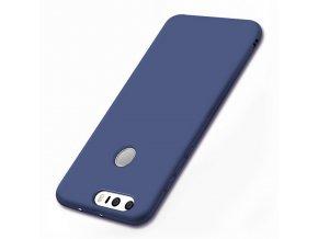 Silikónový kryt (obal) pre Huawei Ascend P9 Plus - dark blue (tm. modrý)