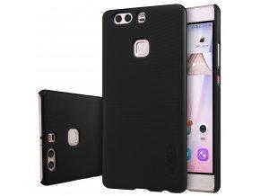 Plastový Nillkin kryt (obal) pre Huawei Ascend P9 Plus - black (čierny)