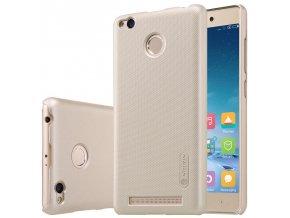 Nillkin plastový kryt (obal) pre Xiaomi Redmi 3Pro/3S - gold (zlatý)
