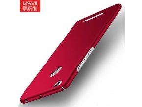 Plastový kryt (obal) pre Xiaomi Redmi 3Pro/3S - red (červený)
