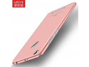 Plastový kryt (obal) pre Xiaomi Redmi 3Pro/3S - rose gold