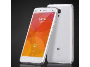 Silikónový kryt (obal) pre Xiaomi Mi4 - clear (priesvitný)
