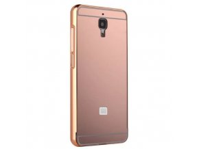 Hliníkový kryt (obal) pre Xiaomi Mi4 - pink (ružový)