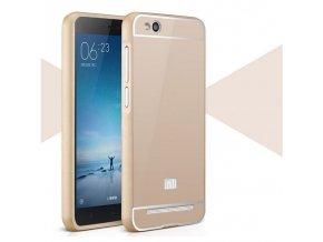 Hliníkový kryt (obal) pre Xiaomi Redmi 3 - gold (zlatý)