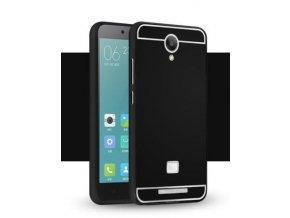 Hliníkový kryt (obal) pre Xiaomi Redmi Note 2 - black (čierny)