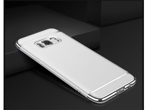 Platový kryt (obal) pre Samsung Galaxy S8 - silver (strieborný)