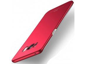 Plastový kryt MSVII pre Samsung Galaxy S8 - simple red (červený)