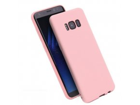 Silikónový kryt (obal) pre Samsung Galaxy S8 - pink (ružový)