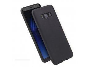 Silikónový kryt (obal) pre Samsung Galaxy S8 Plus - black (čierny)