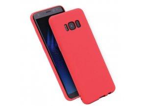 Silikónový kryt (obal) pre Samsung Galaxy S8 Plus - red (červený)