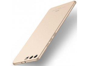 Plastový kryt (obal) pre Huawei P10 Plus - matte gold (zlatý)