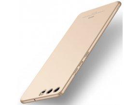 Plastový kryt (obal) pre Huawei P10 Plus - simple gold (zlatý)