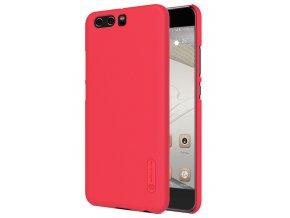 Plastový Nillkin kryt (obal) pre Huawei P10 Plus - red (červený)