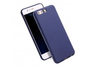 Silikónový kryt (obal) pre Huawei P10 Plus - dark blue (tm. modrý)
