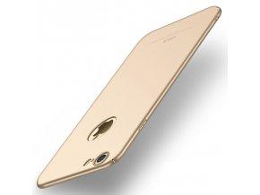 Plastový kryt pre iPhone 7 / 8 - simple gold