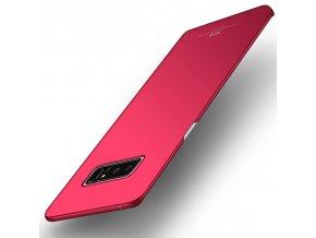 Plastový kryt pre Samsung Galaxy Note 8 (N950F) - červený lesklý