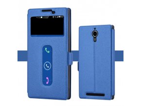 Flip Case (knižkové puzdro) pre Lenovo K80 - modré