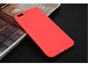 Silikónový kryt pre iPhone 7+/8+ (PLUS) - červený
