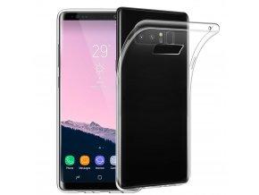 Silikónový kryt pre Samsung Galaxy Note 8 (N950F) - priesvitný