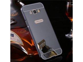 Hliníkový kryt pre Samsung Galaxy A5 (A500F) - čierny