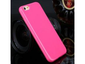 Silikónový kryt (obal) pre Iphone 4/4S - dark pink (tm. ružový)