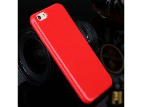 Silikónový kryt (obal) pre Iphone 4/4S - red (červený)