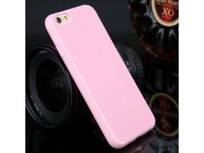 Silikónový kryt (obal) pre Iphone 5C - pink (ružový)