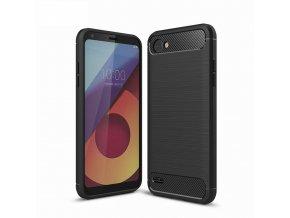 Silikónový kryt (obal) pre LG Q6 - black (čierny)