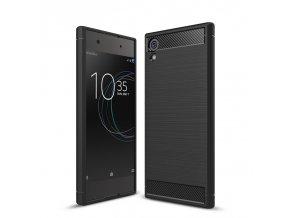 Silikónový kryt (obal) pre Sony Xperia XA1 - black (čierny)