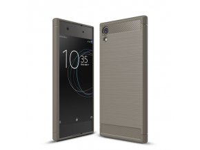 Silikónový kryt (obal) pre Sony Xperia XA1 - grey (šedé)