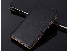 Flip Case (puzdro) pre Sony Xperia XZ1 compact - čierne (black)