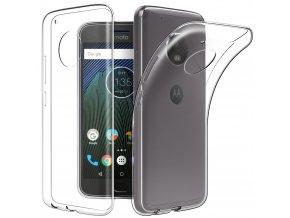 Silikónový kryt (obal) pre Lenovo (Motorola) Moto G5+ (PLUS) - clear (priesvitný)