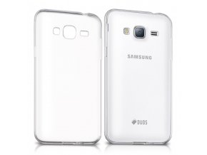 Silikónový kryt (obal) pre Samsung Galaxy J3 2016 (J320F) - priesvitný