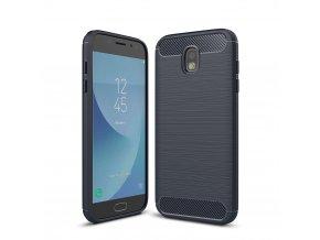 Silikónový kryt (obal) pre Samsung Galaxy J3 2017 (J330F) - tm. modrý